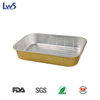LWS-REC330 Coated smoothwall aluminum foil container