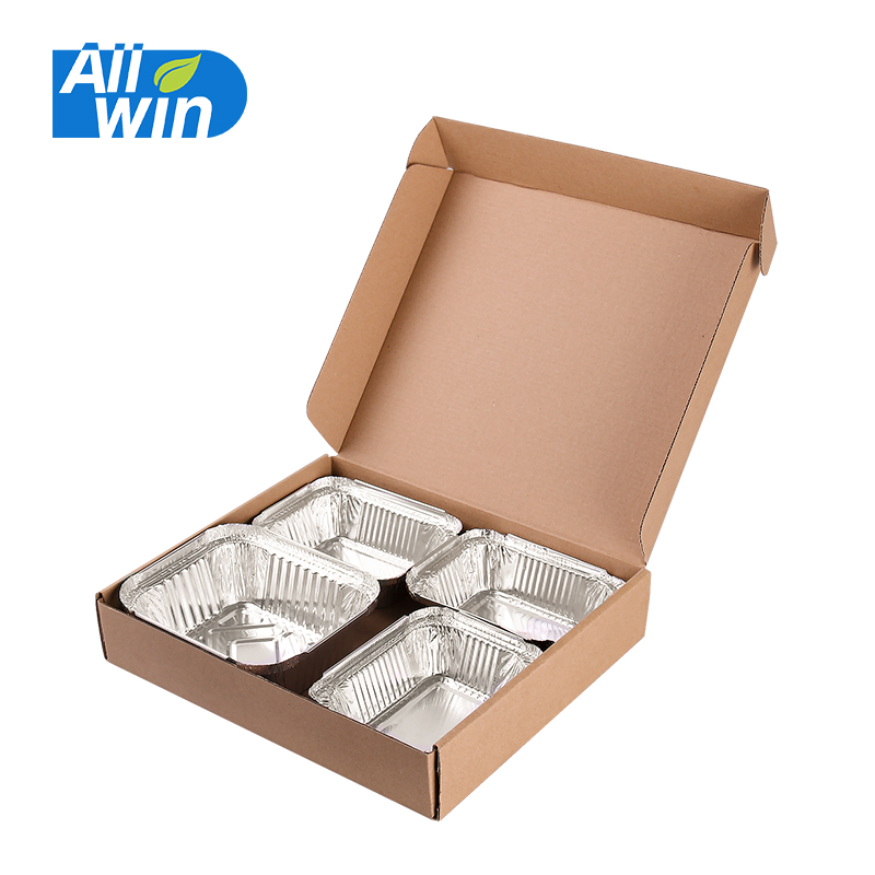 Take out food packing corrugated paper box pizza box