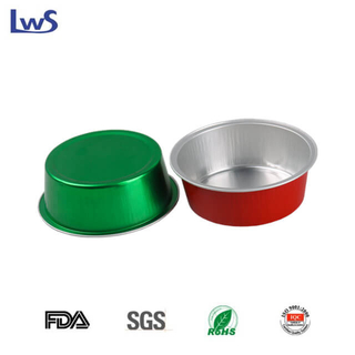 LWS-RC95 Color smoothwall aluminum foil container