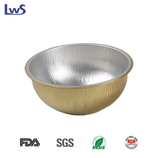 LWS-RC115 Round coated aluminum foil container